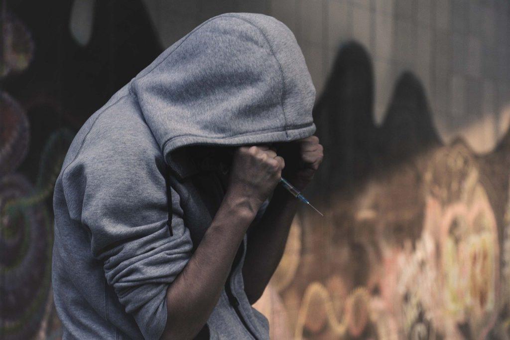 addict, the dependence of, drug addiction
